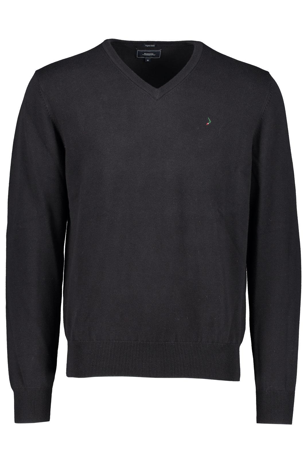 BOOMERANG | Erland v neck sweater | STICKADE TRÖJOR TRÖJOR