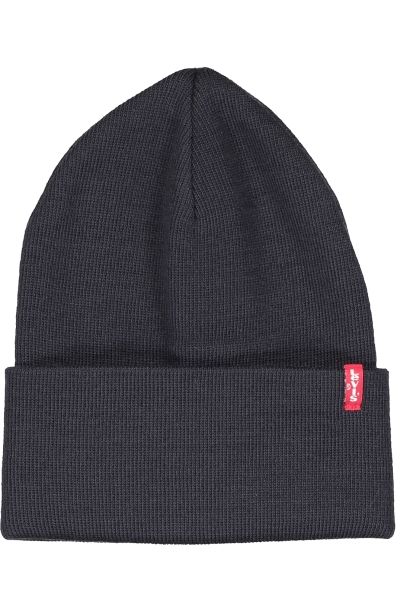 SLOUCHY RED TAB BEANIE i gruppen DAM / ACCESSOARER / MÖSSOR hos Vingåkers Factory Outlet Webshop (NAVY_47096_223878-NAVYr)