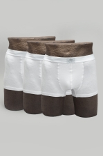 MENS 3-PACK BOXER SOLID