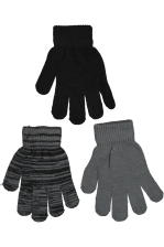Bishan Knitted 3-Pack Gloves