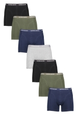 S Shorts Solid 7-pack
