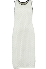 ZOE CROCHET KNIT DRESS