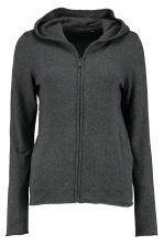 W RACE KNITTED ZIP HOOD