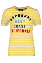 West Coast Stripe Entry Tee