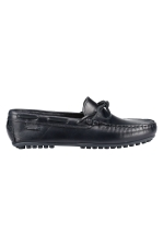 LACED DRIVING LOAFER LTH