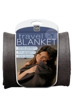 TRAVEL BLANKET (BLACK)