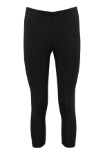 3/4 LEGGINGS SVART