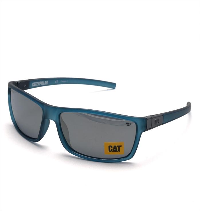Berkley blå trämönstade solglasögon