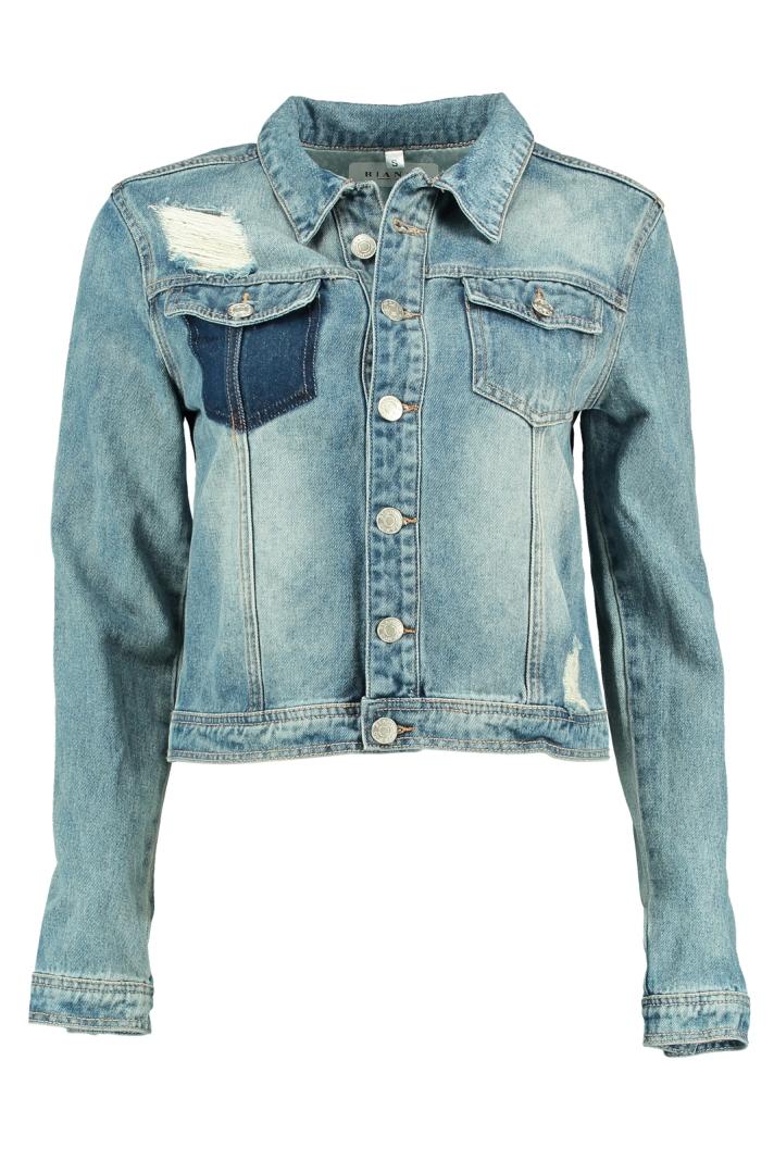 Jeans jackor dam