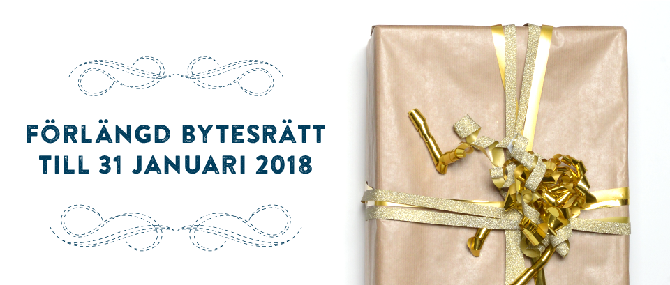 Förlängd bytesrätt tll 31a Januari 2018