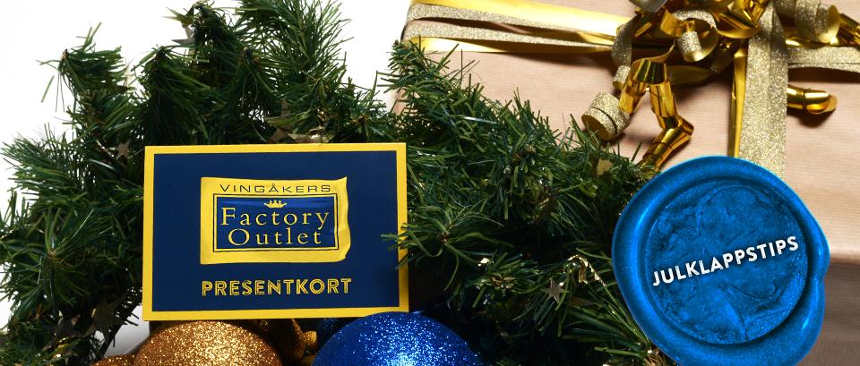 Ge bort ett presentkort i julklapp
