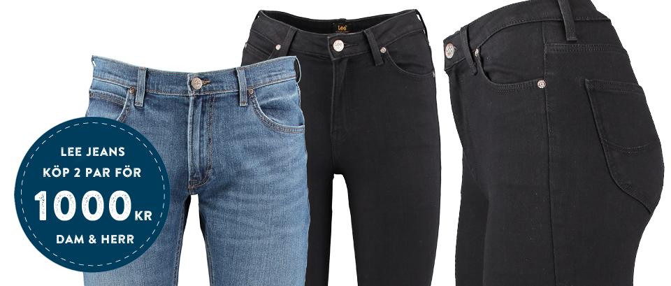 Jeans från Lee - 2 för 1000:-