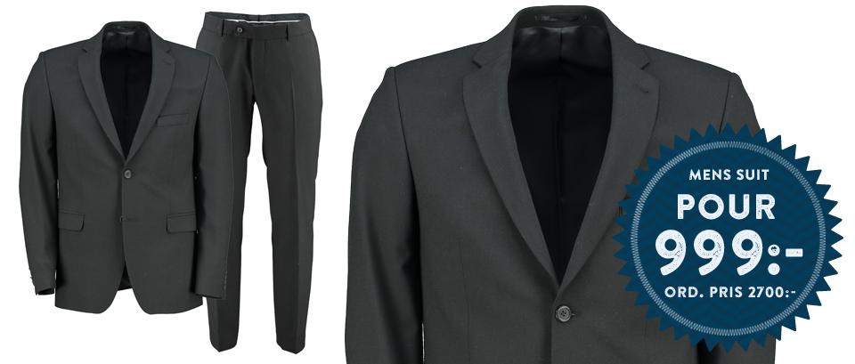 Mens Suit Pour 999:- Ord. Pris 2700:-