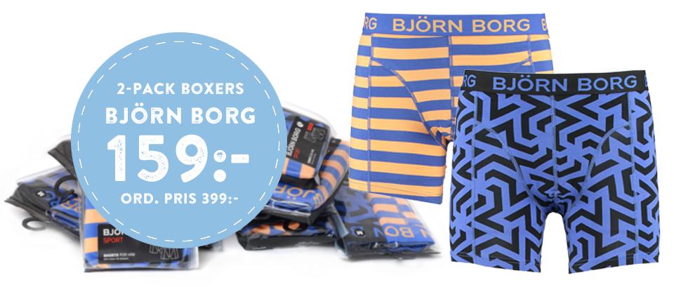 2-Pack Boxers Björn Borg 159:- Ord. Pris 399:-