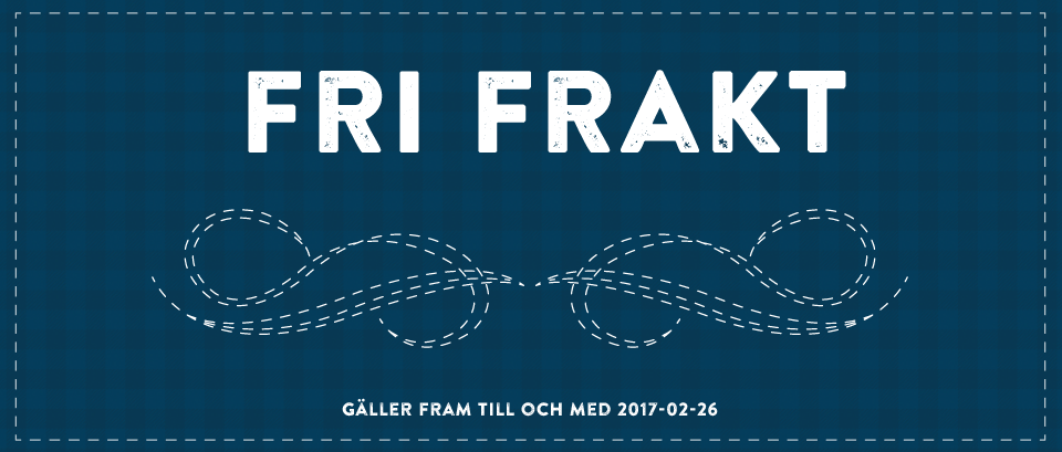 FRI FRAKT!!