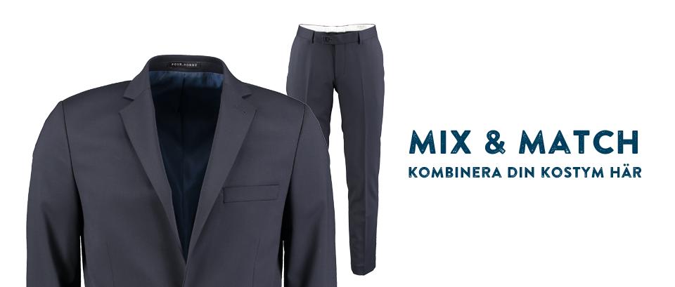 Mix & Match Kombinera din kostym här