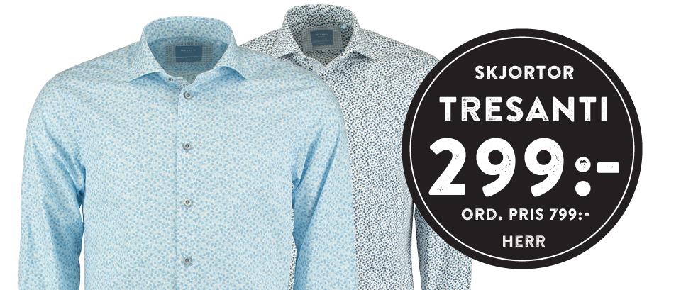 Skjortor från TRESANTI