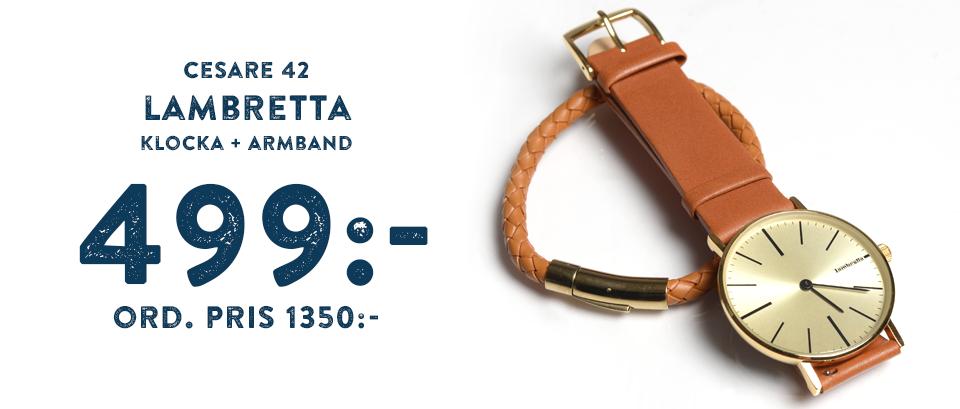 Klocka + armband från Lambretta