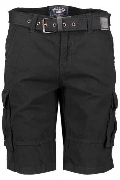 Cargo Shorts i gruppen HERR / UNDERDELAR / SHORTS hos Vingåkers Factory Outlet AB (BLACK_100076221_1499-Car)